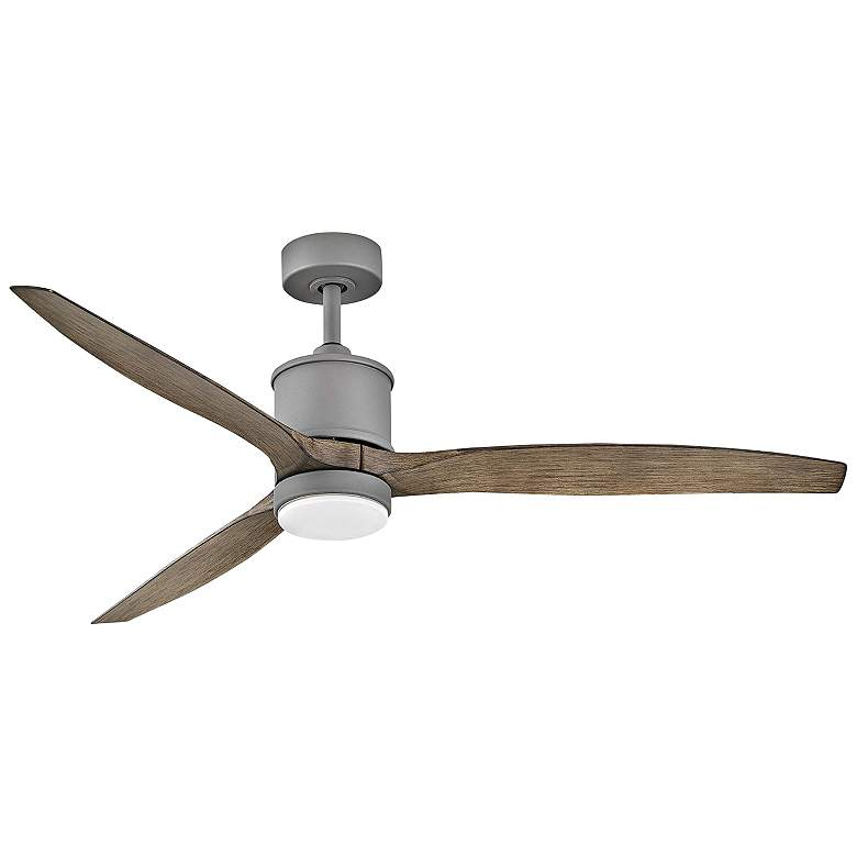 """60"""" Hinkley Hover Graphite Wet Rated LED Ceiling Fan"""
