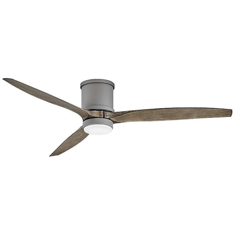 """60"""" Hinkley Hover Graphite Wet LED Hugger Ceiling Fan"""