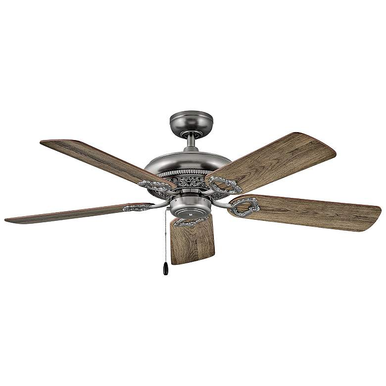 """52"""" Hinkley Lafayette Pewter Ceiling Fan"""