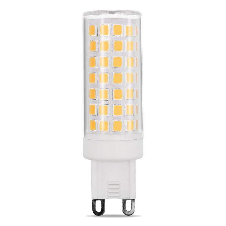 75 Watt Equivalent Tesler 6 Watt LED Dimmable G9 Base Bulb