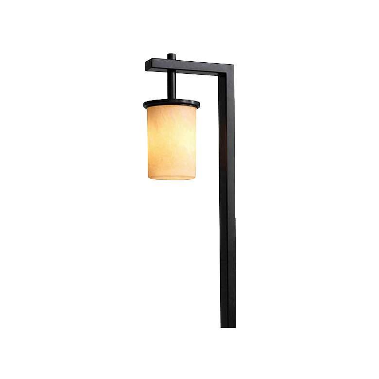 "Marble Bollard 23 1/2""H LED Path Light"