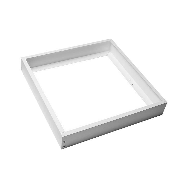 Satco 2' x 2' White LED Flat Panel Accessory Frame Kit