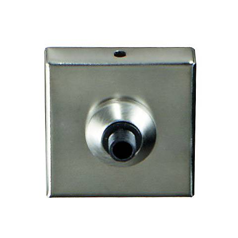 "Tech Lighting Freejack Satin Nickel 2"" Square Canopy"