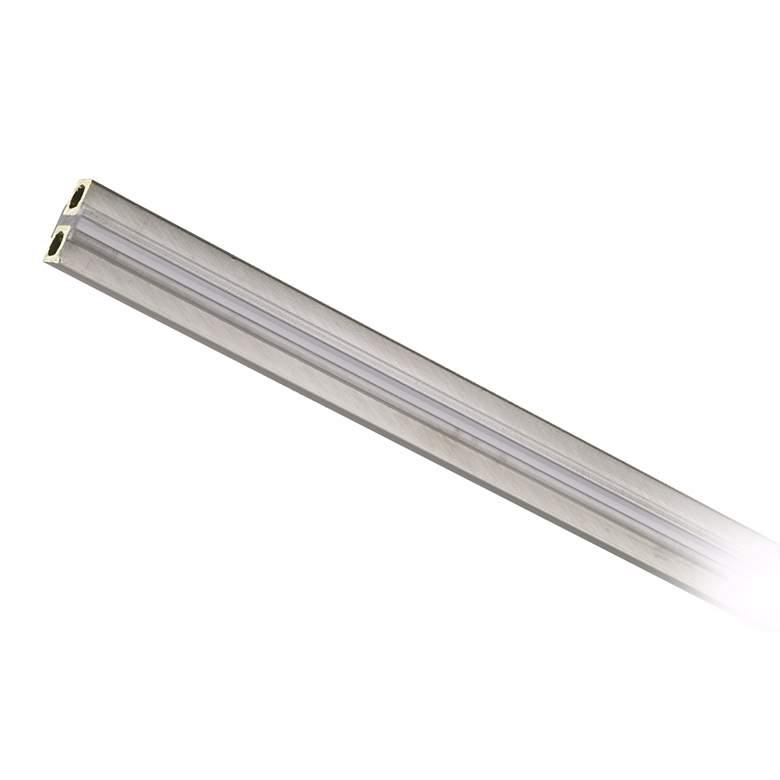"Tech Lighting Monorail 96"" Long Satin Nickel Straight Rail"