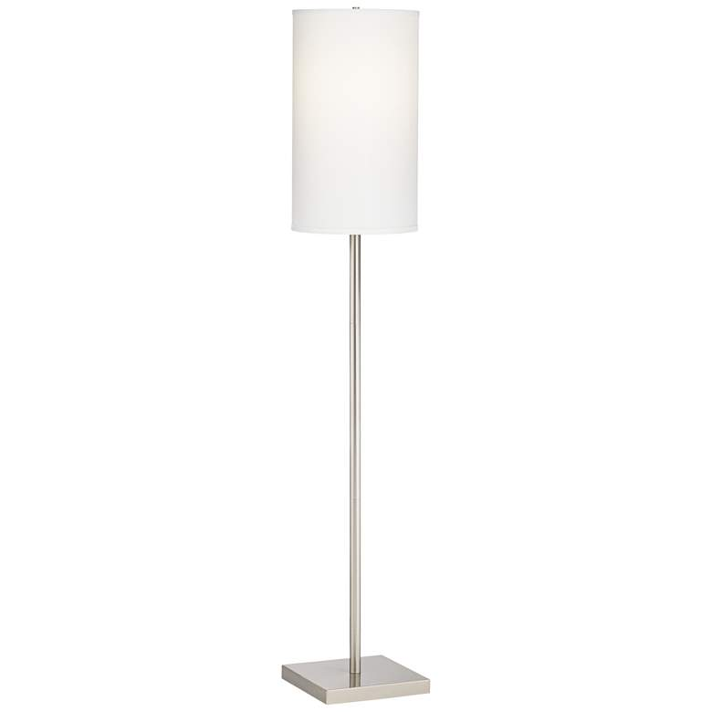 Coverly Brushed Nickel Floor Lamp
