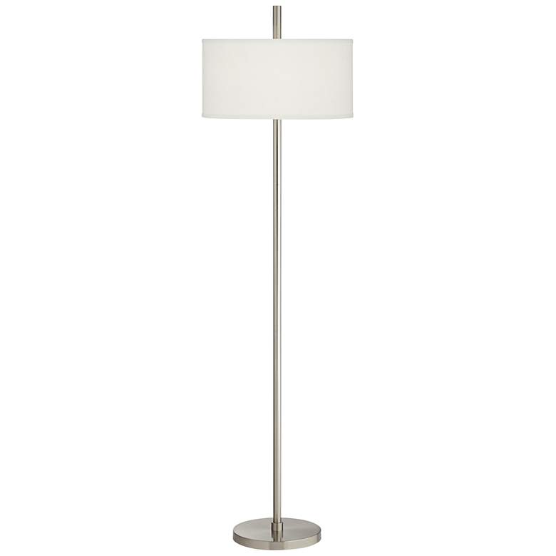 Bovington Brushed Nickel Floor Lamp