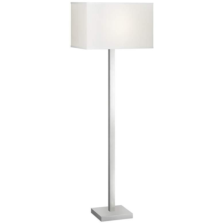 Sylva Brushed Nickel Floor Lamp