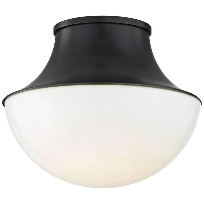 "Hudson Valley Lettie 10 3/4"" Wide Bronze LED Ceiling Light"