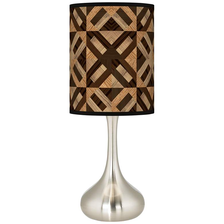 American Woodwork Giclee Droplet Table Lamp