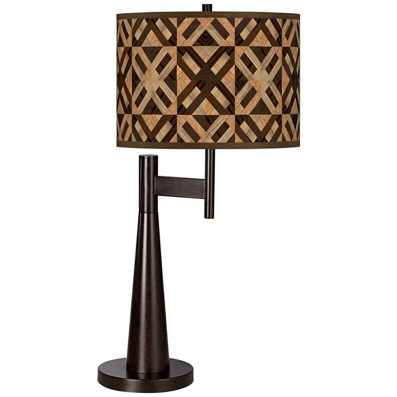 American Woodwork Giclee Novo Table Lamp
