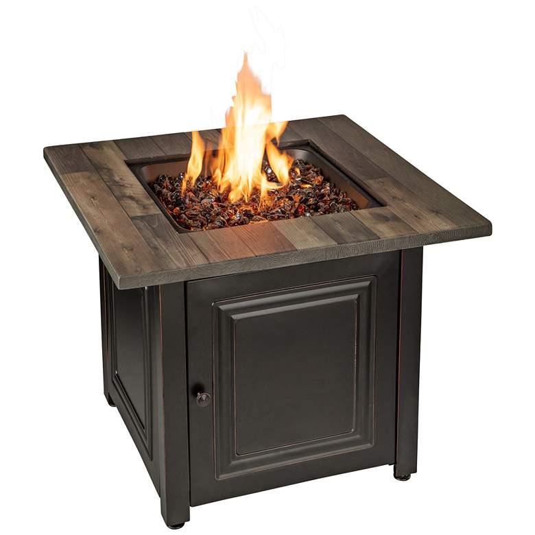 """Burlington 30"""" Wide LP Gas Fire Pit Table"""