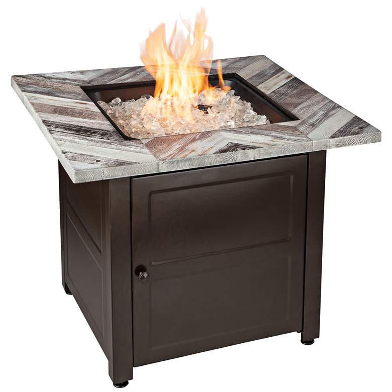 """Duvall 30"""" Wide LP Gas Fire Pit Table"""
