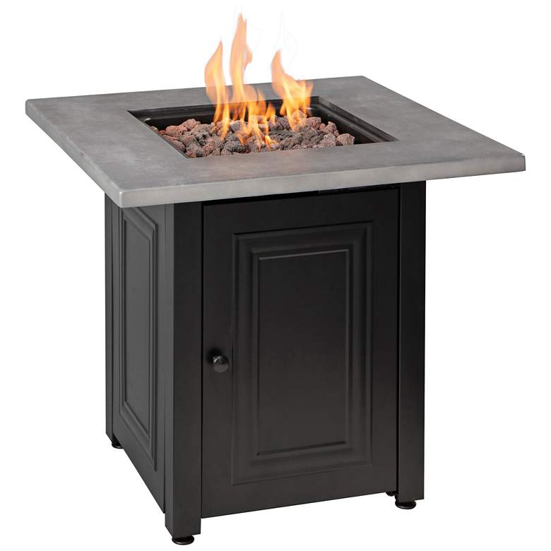 """Wakefield 28"""" Wide LP Gas Fire Pit Table"""