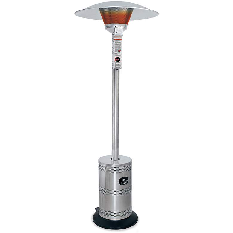 """Stainless Steel 91 3/4""""H Commercial Grade Patio Heater"""