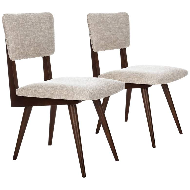 Aurora Taupe Dining Chair Set of 2