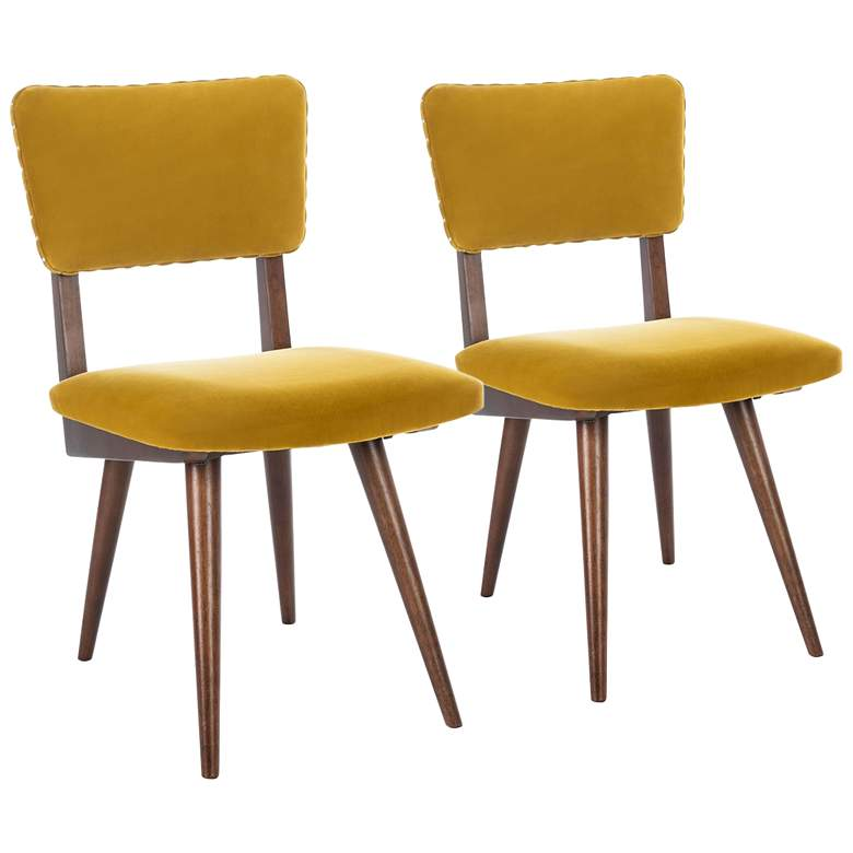 Aurora Gold Dining Chair Set of 2
