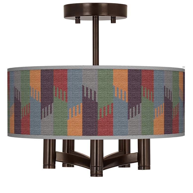 Tassels Ava 5-Light Bronze Ceiling Light