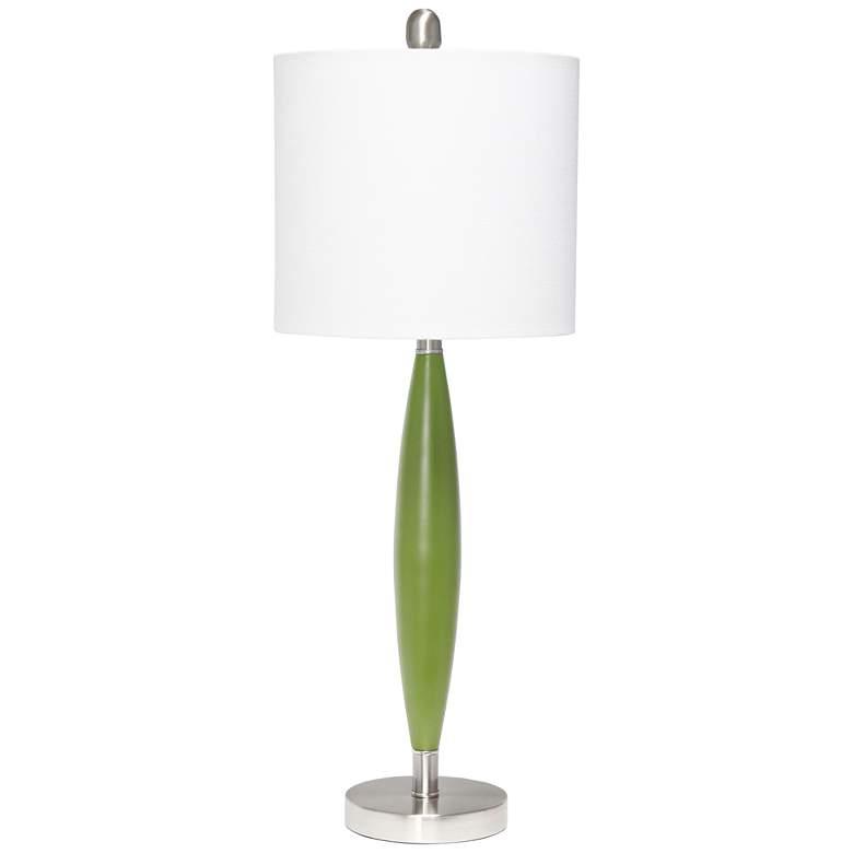 Lalia Home Stylus Green Metal Table Lamp