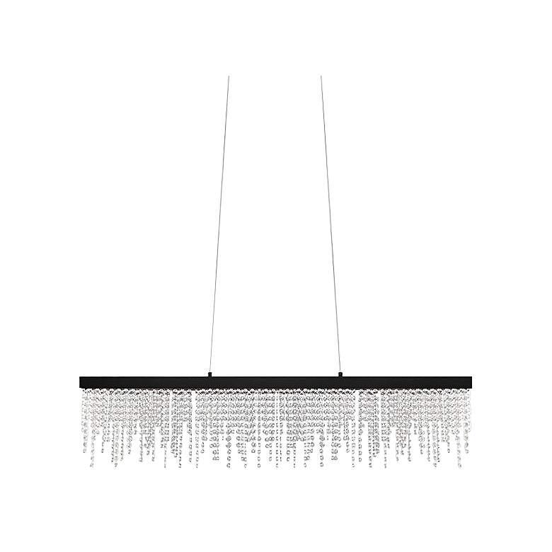"Eglo Antelao 5"" Wide Black LED Chandelier"