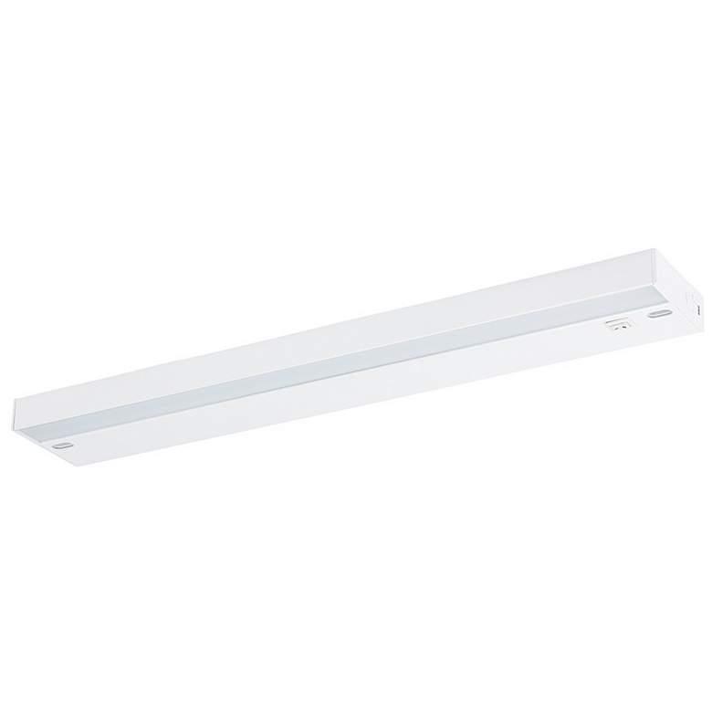 "Ellumi 18"" Wide White Antibacterial LED Under Cabinet Light"