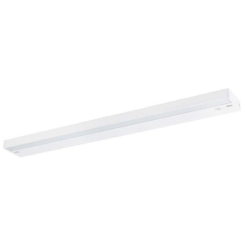 "Ellumi 24"" Wide White Antibacterial LED Under Cabinet Light"