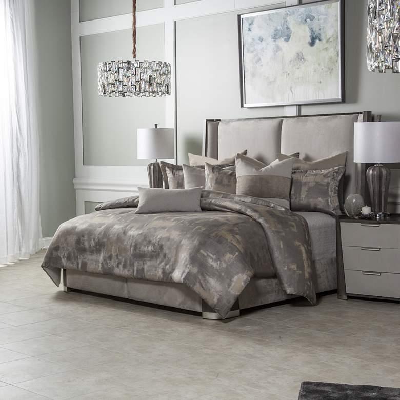 Aubrey Patina Comforter Bed Set
