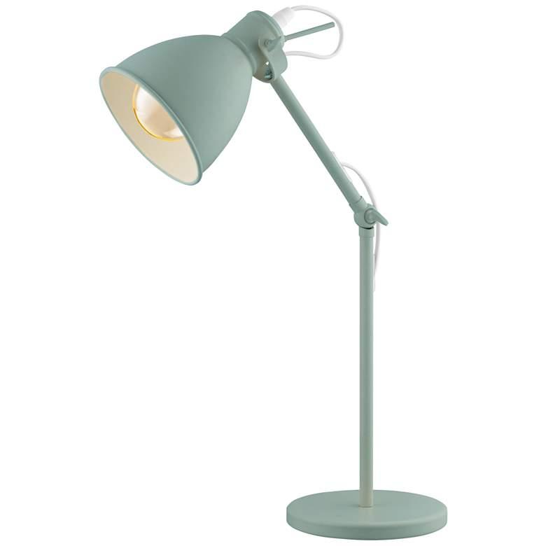 Eglo Priddy-P Pastel Light Green Adjustable Desk Lamp