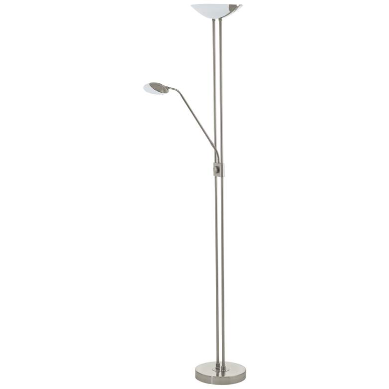 Eglo Baya 1 Matte Nickel Adjustable 3-Light LED Floor Lamp
