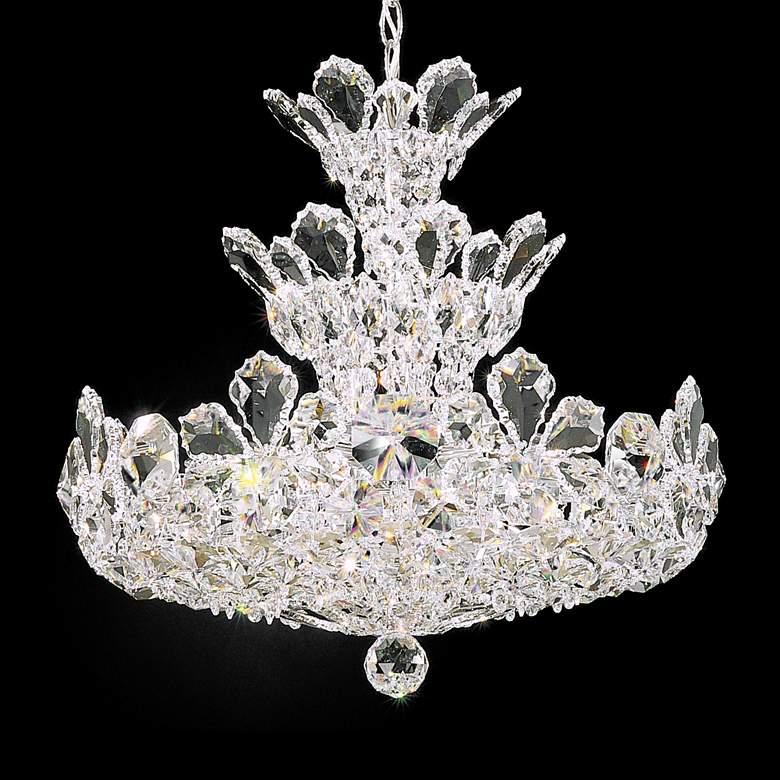 "Schonbek Trilliane Collection 20"" Wide Crystal Chandelier"