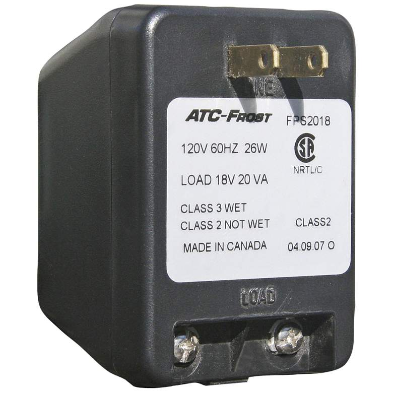 Class 2 Plug-In Transformer for Lighted Address Plaques