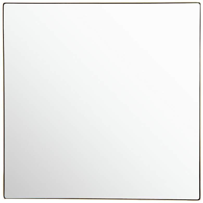 "Varaluz Casa Kye Gold 40"" Square Oversized Wall Mirror"