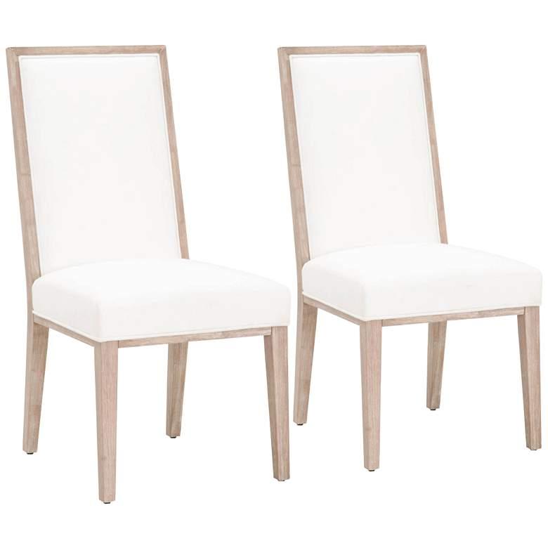 Martin LiveSmart Peyton-Pearl Dining Chairs Set of 2