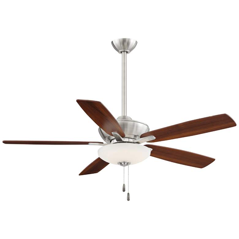 "52"" Minka Aire Minute Brushed Nickel LED Ceiling Fan"