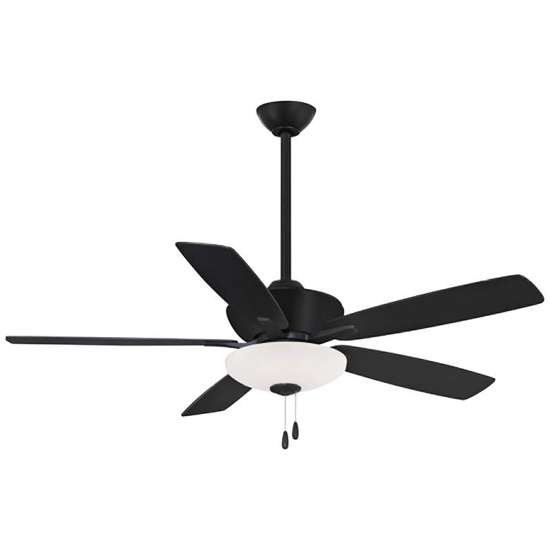 "52"" Minka Aire Minute Coal Finish Indoor LED Ceiling Fan"