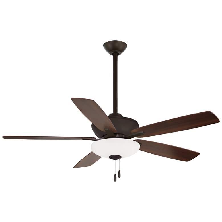 "52"" Minka Aire Minute Oil-Rubbed Bronze LED Ceiling Fan"