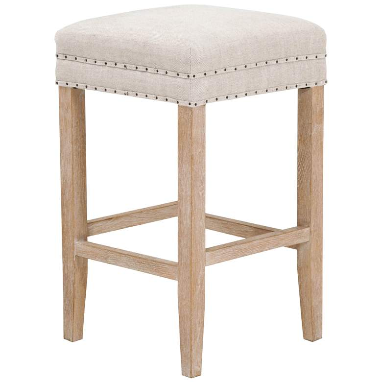 """Kent 27"""" Bisque French Linen and Stone Wash"""