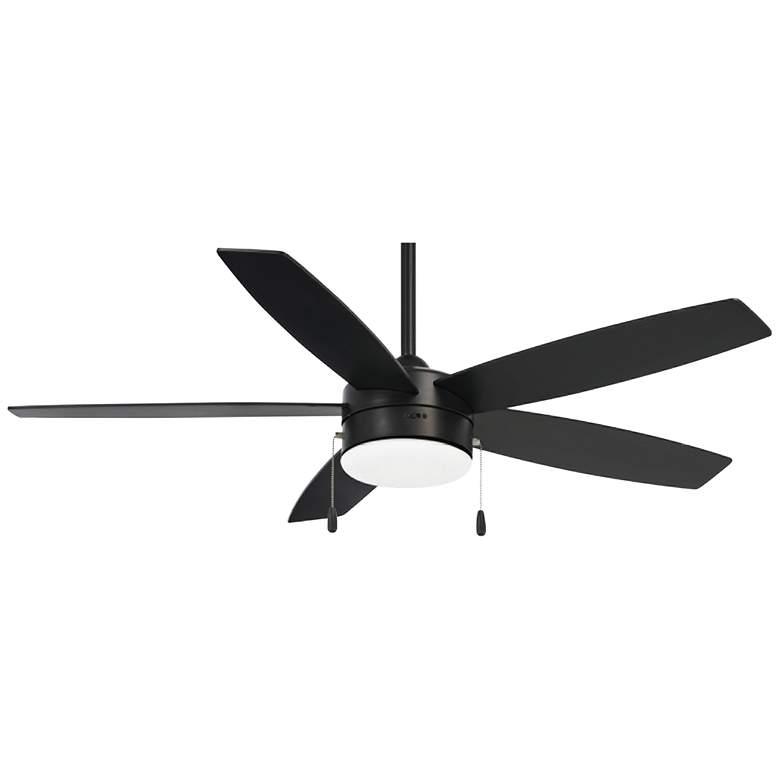 "52"" Minka Aire Airetor Coal Pull Chain LED Ceiling Fan"