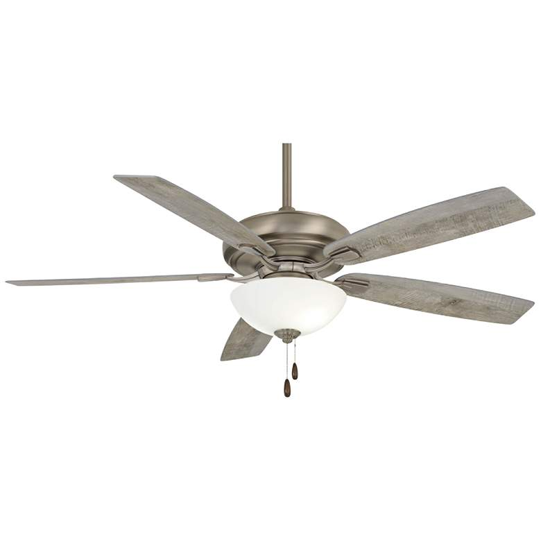 """60"""" Minka Aire Watt II Burnished Nickel LED Ceiling Fan"""