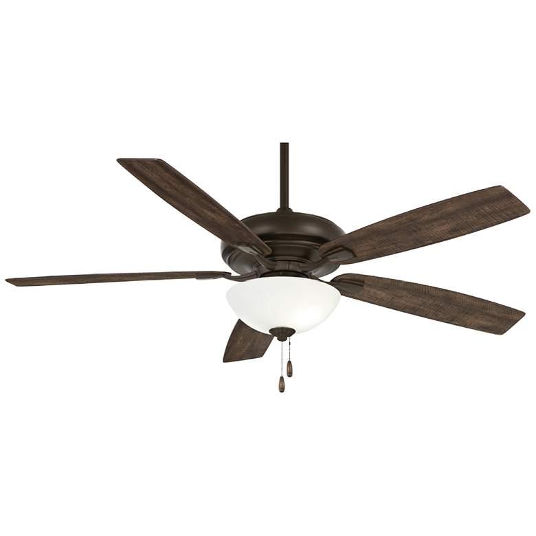 """60"""" Minka Aire Watt II Oil-Rubbed Bronze LED Ceiling Fan"""