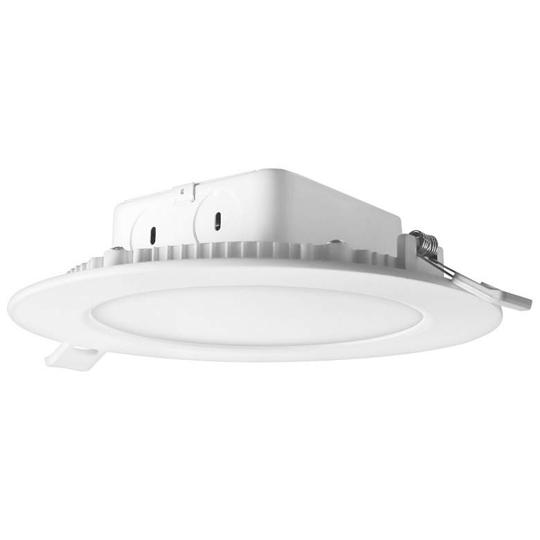 """Cyber Tech 6"""" White LED IC-Rated Recessed J-Box Downlight"""