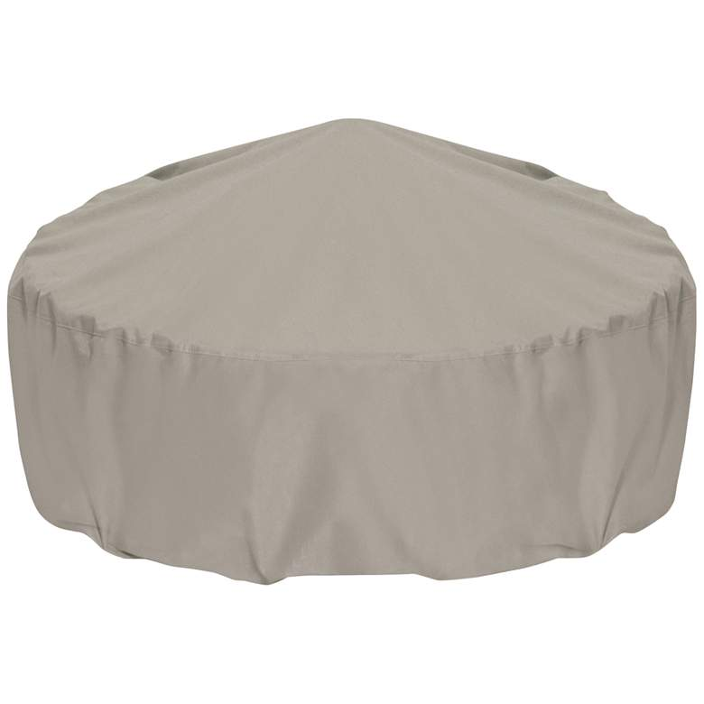 "Two Dogs Designs 48"" Khaki Outdoor Fire Pit Cover"