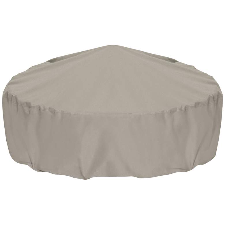 "Two Dogs Designs 80"" Khaki Outdoor Fire Pit Cover"