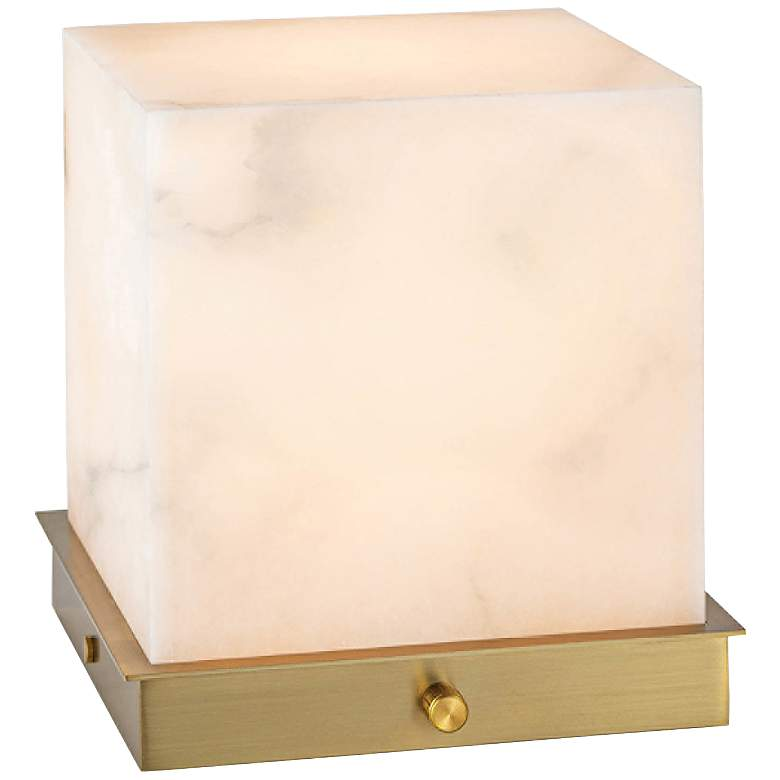 """Kai 9 1/4"""" High Natural Stone Uplight Accent Table Lamp"""