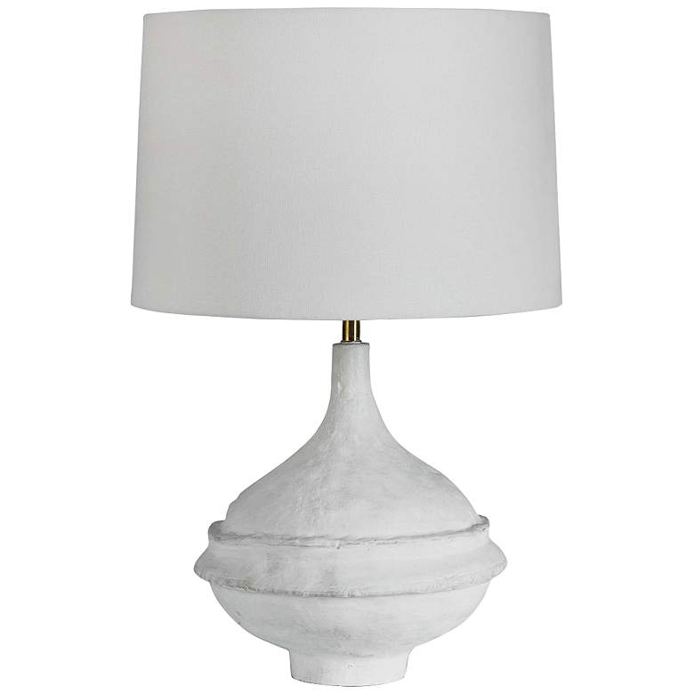 Regina Andrew Design Riviera Matte White Accent Table Lamp