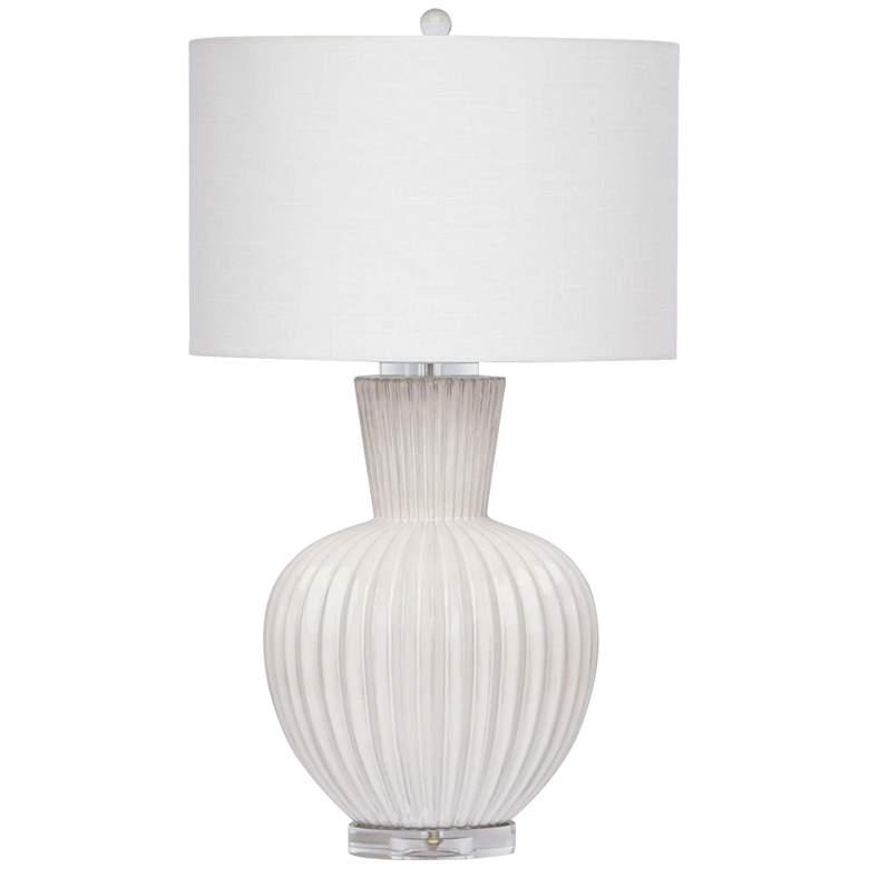 Regina Andrew Design Madrid White Ceramic Table Lamp