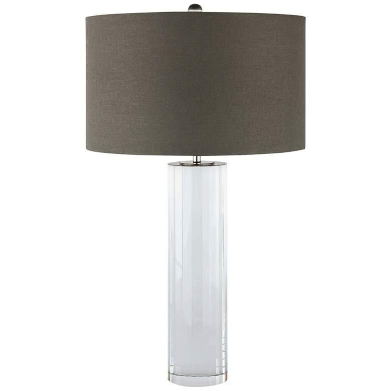 Regina Andrew Design Romeo Clear Crystal Column Table