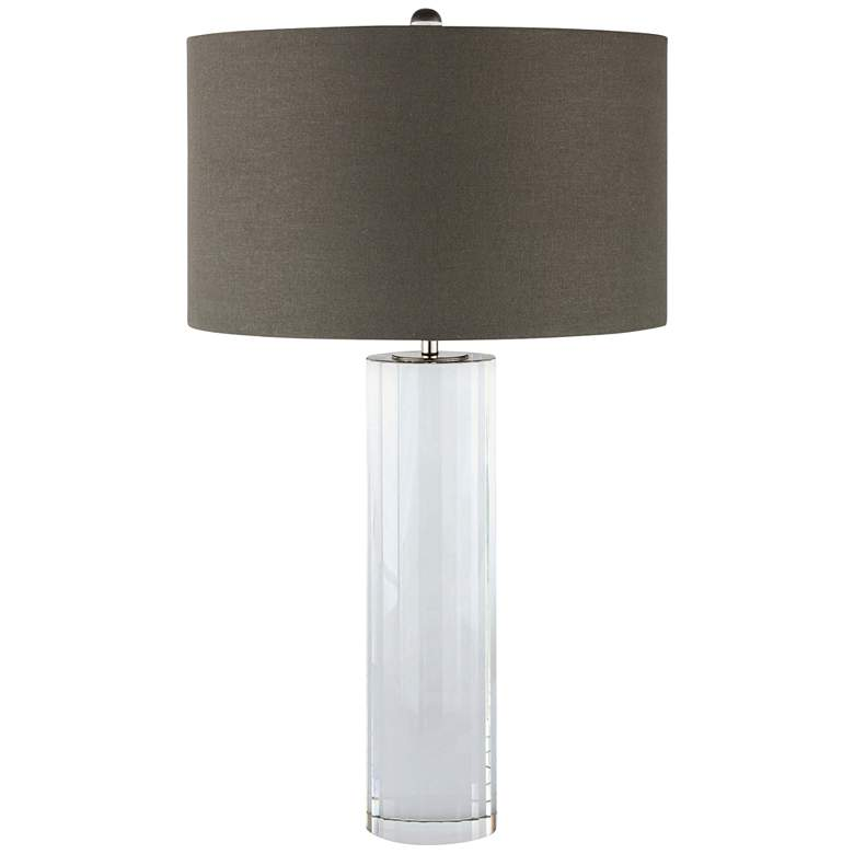 Regina Andrew Design Romeo Clear Crystal Column Table Lamp