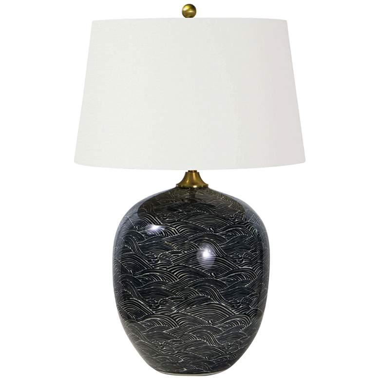 Regina Andrew Design Harbor Ebony Ceramic Table Lamp