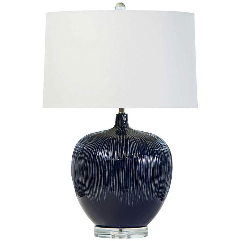 Regina Andrew Design Wisteria Blue Ceramic Table Lamp