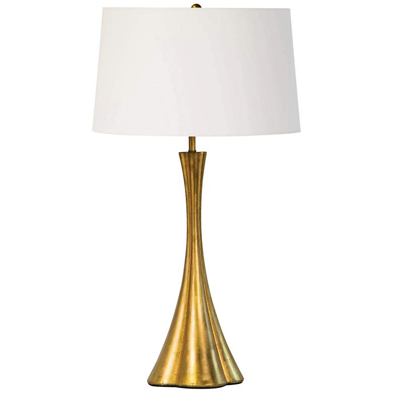 Regina Andrew Design Lillian Gold Leaf Metal Table Lamp